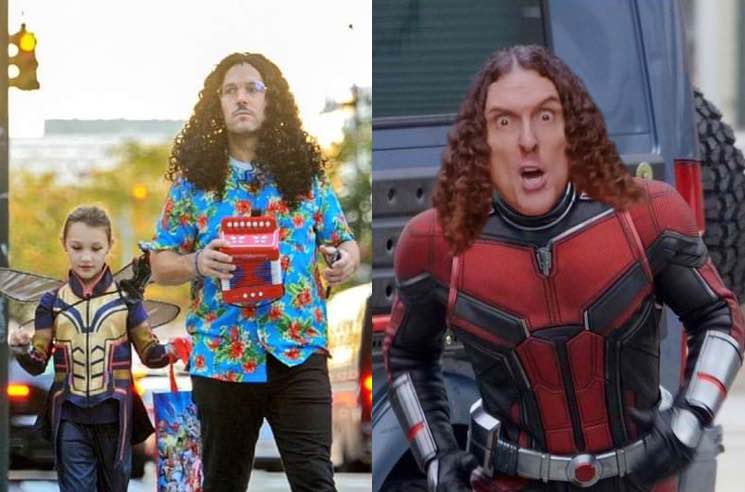 Weird Al Finally Responded To Paul Rudd S Weird Al Halloween Costume From Last Year