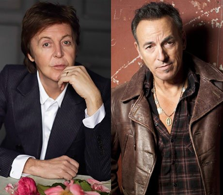 Paul McCartney and Bruce Springsteen to Collaborate at Vancouver Concert?