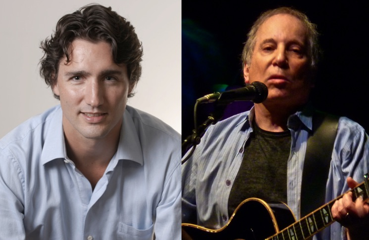Justin Trudeau Really Hates Paul Simon for Some Reason