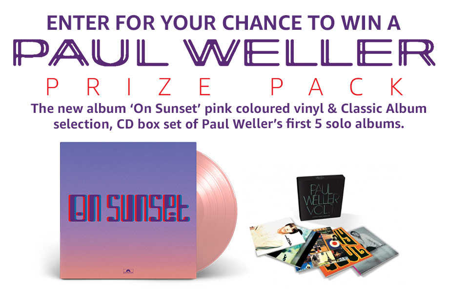 Paul Weller – Enter for a chance to win a Paul Weller prize pack!