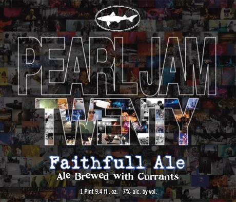 Pearl Jam's 20th Toasted with New Beer
