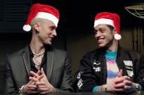 ​Pete Davidson and Machine Gun Kelly Spent Christmas Together