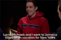 ​Pete Davidson and Lorne Michaels Once Spent New Year's in Jamaica Together