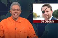 Pete Davidson Criticized for Joke About Navy Veteran Running for Congress