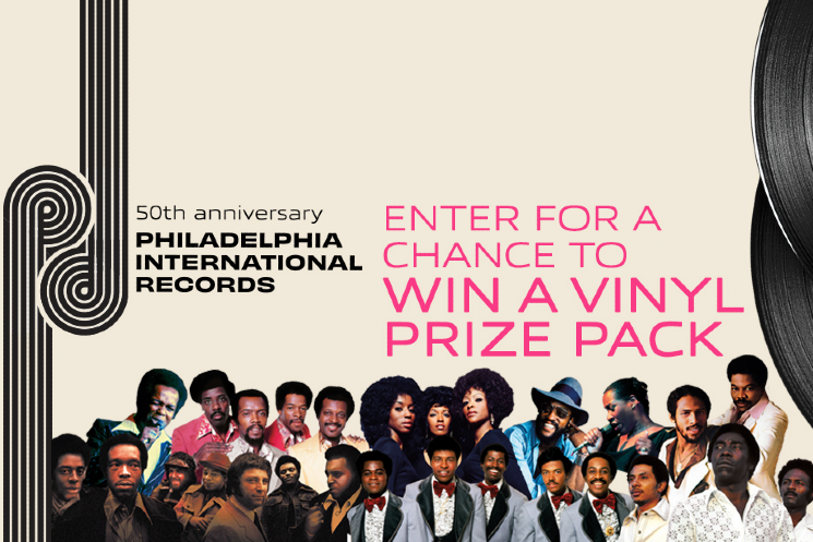Philadelphia International Records 50th Anniversary — Enter for Your Chance to Win a Vinyl Prize Pack!