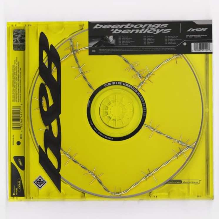 post malone unveils 'beerbongs and bentleys' artwork and tracklist