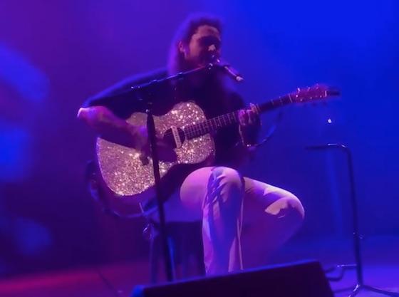 Post Malone breaks Apple Music's single week streaming record