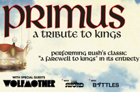 Primus to Cover Rush's 'A Farewell to Kings' on Summer Tour