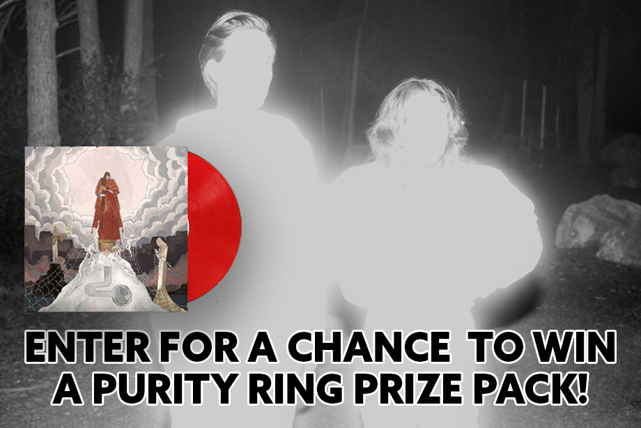 Purity Ring – Enter for a chance to win a vinyl copy of 'WOMB' and more!