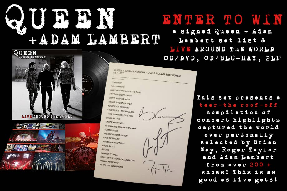 Queen – Enter for a chance to win a 'Live Around the World' prize pack!