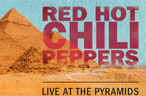 Watch Red Hot Chili Peppers Livestream Their Show at the Great Pyramids of Giza
