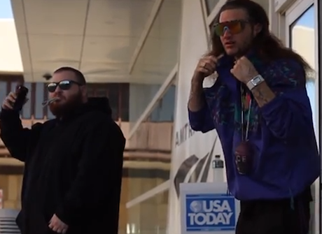 Riff Raff Teams Up with Action Bronson for Collaborative 'Galaxy Gladiators' Album