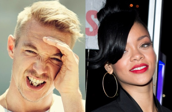 Rihanna responds to dissing Diplo's 'airport reggae' song
