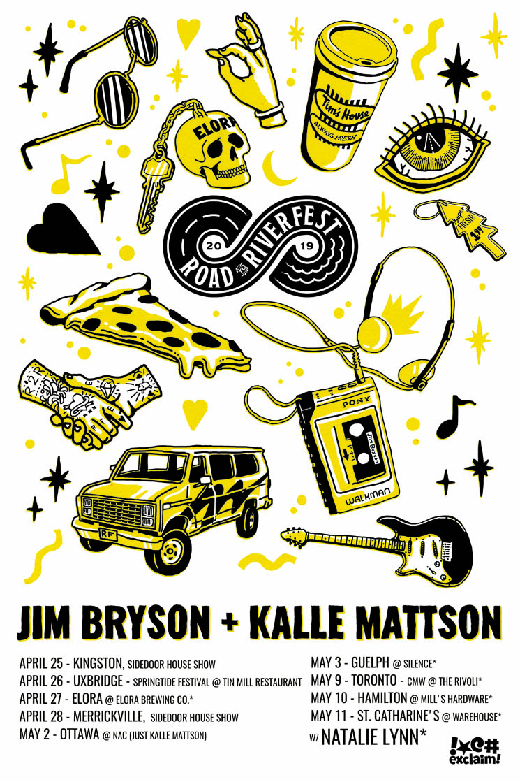 Jim Bryson / Kalle Mattson – 'Road to Riverfest Tour'