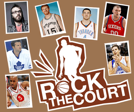 Arcade Fire's Win Butler, City and Colour's Dallas Green and NBA Stars Get Together for 'Rock the Court' Charity