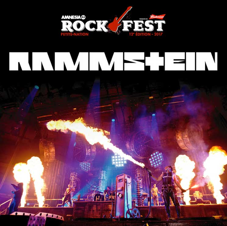 Rammstein and the Offspring to Play Amnesia Rockfest 2017
