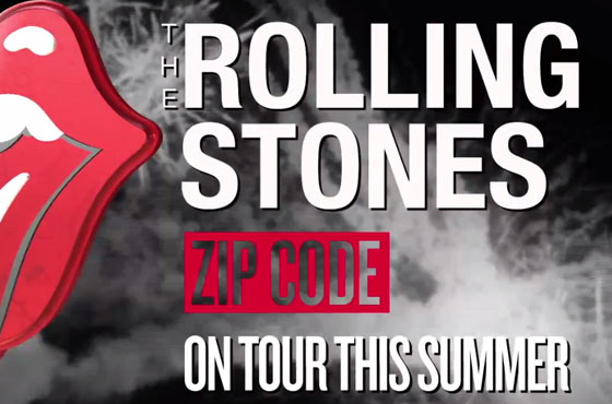 Rolling Stones Plot Zip Code Tour Reveal Plans For