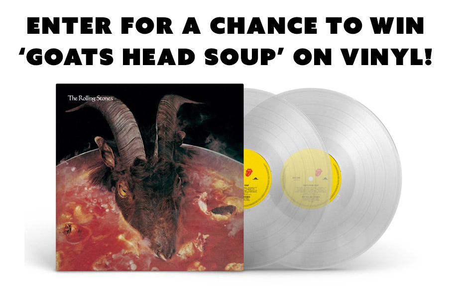 The Rolling Stones – Enter for a chance to win a clear vinyl copy of 'Goats Head Soup!'