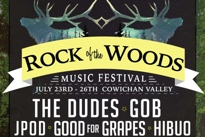 Vancouver Island's Rock of the Woods Gets Gob, the Dudes