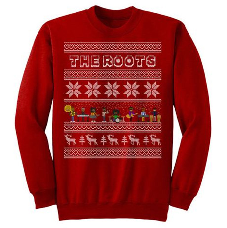 The Roots Unveil Their Own Ugly Christmas Sweater