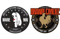 Brandi Carlile and Marie-Mai Named Record Store Day 2020 Ambassadors