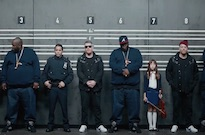 Run the Jewels Enter a Tripped-Out Police Lineup in New