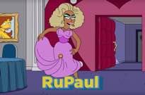 See RuPaul Serve Animated Eleganza in 'The Simpsons' Teaser
