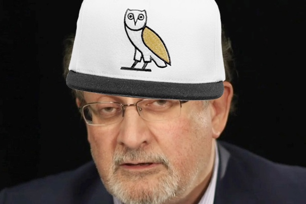 Watch Salman Rushdie Recite, Comment on Drake Lyrics