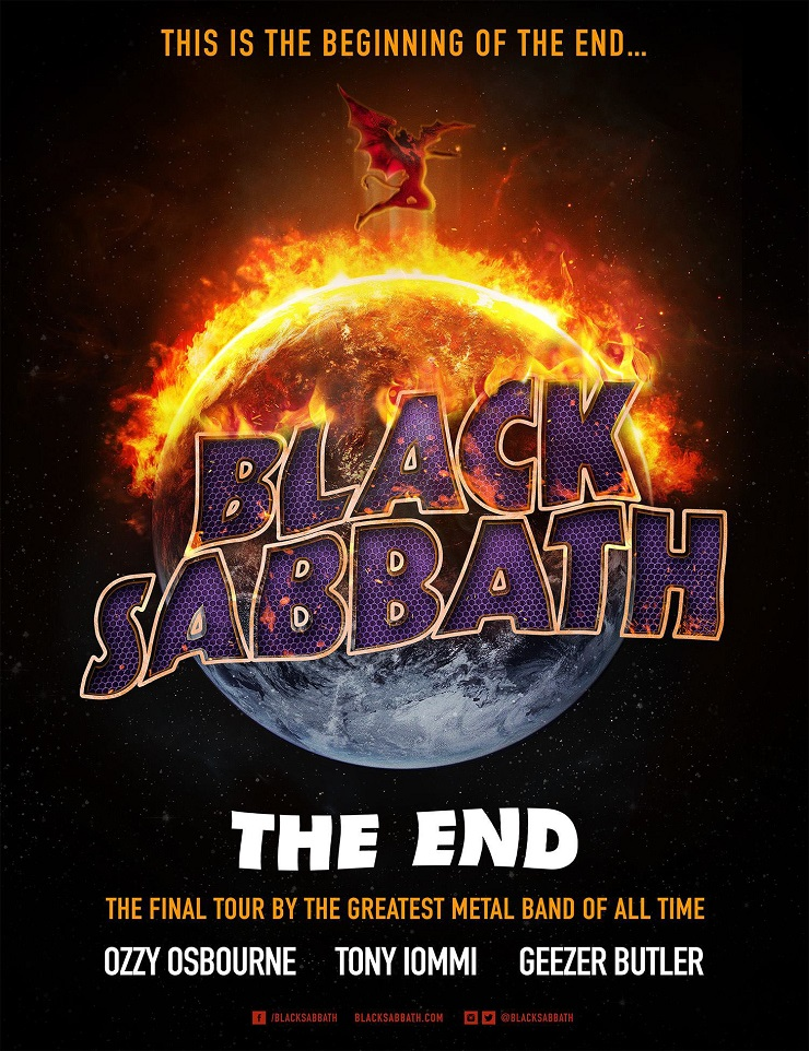 Black Sabbath Postpone Alberta Shows Due to Ailing Ozzy