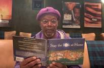 Watch Samuel L. Jackson Read a Coronavirus-Themed Kids' Book Called 'Stay the Fuck at Home'