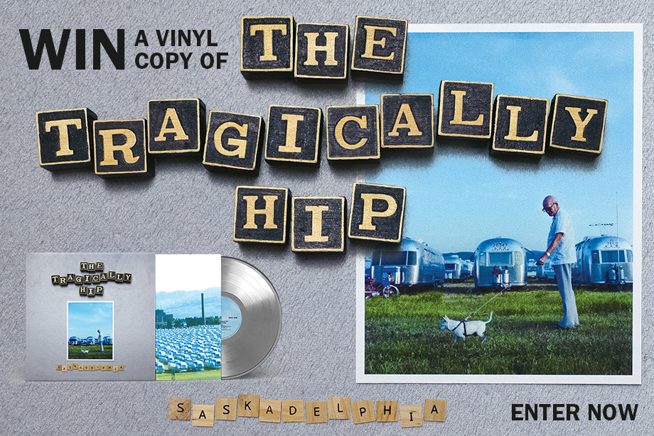 The Tragically Hip — Enter for Your Chance to Win a Vinyl Copy of The Tragically Hip's Brand-New Album 'Saskadelphia'!