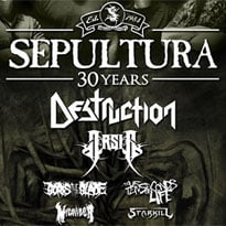Sepultura Celebrate 30th Anniversary with North American Tour