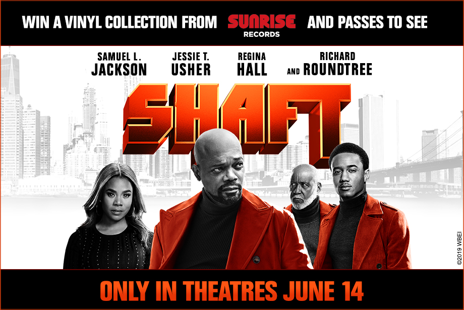 'SHAFT' - Win Run-of-Engagement Passes and a Vinyl Prize Pack!