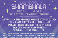 Shambhala Music Festival Unveils 2019 Lineup