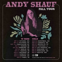 Andy Shauf Maps Out Fall Tour