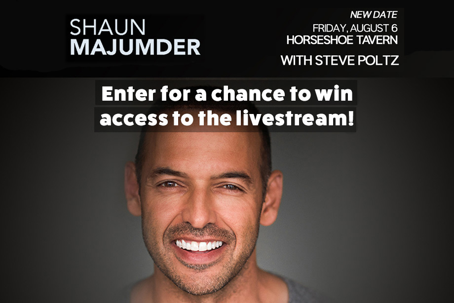 """Shaun Majumder – Enter for Your Chance to Win Access to Their """"Hootenanny"""" Livestream Performance!"""
