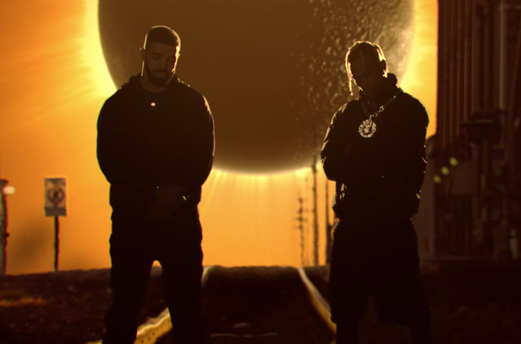 e3dff4b26806 Watch Travis Scott and Drake's Surreal Video for