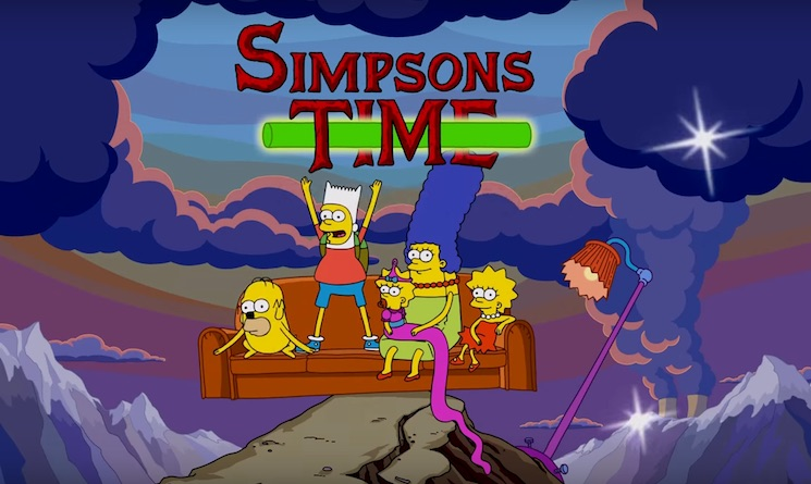 The Simpsons' Crosses over with 'Adventure Time' for New