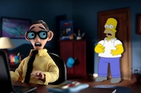 Homer Crosses Paths with 'South Park,' California Raisins and 'Robot Chicken' in New 'Simpsons' Couch Gag