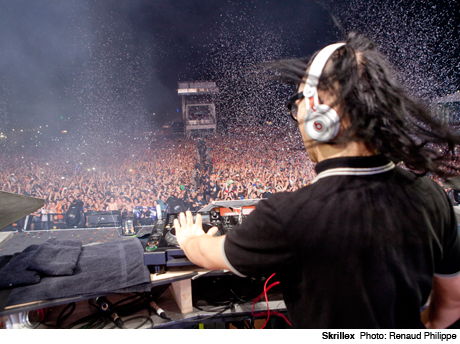 SkrillexBell Stage at Plains of Abraham, Quebec City QC July 11