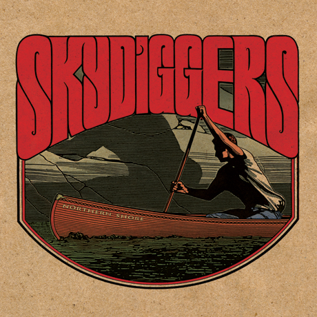 Skydiggers'Northern Shore' (album stream)