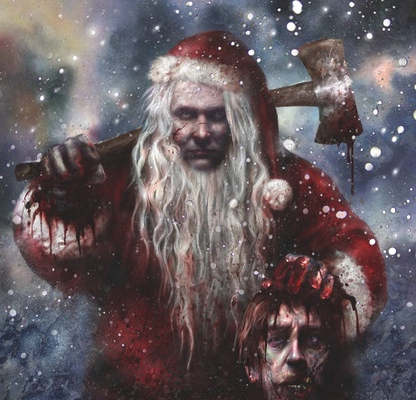 Evil Christmas.Christmas Horror Classics Silent Night Deadly Night And