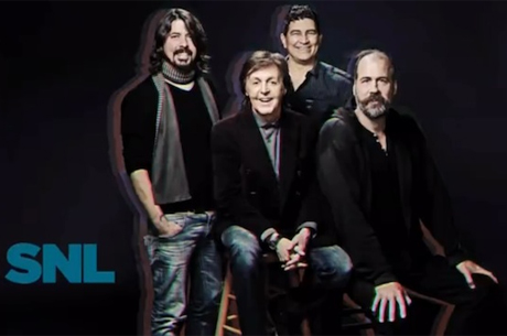 "Paul McCartney""Cut Me Some Slack"" (ft. Dave Grohl, Krist Novoselic, Pat Smear) (live on 'SNL')"