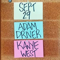 'SNL' Gets Adam Driver and Kanye West for Season 44 Premiere