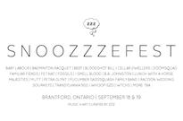 Brantford's Snoozzzefest Unveils 2015 Lineup