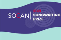 SOCAN Songwriting Prize Announces 2021 Finalists