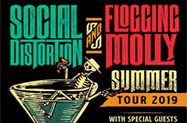 Social Distortion and Flogging Molly Announce Co-Headlining North American Tour