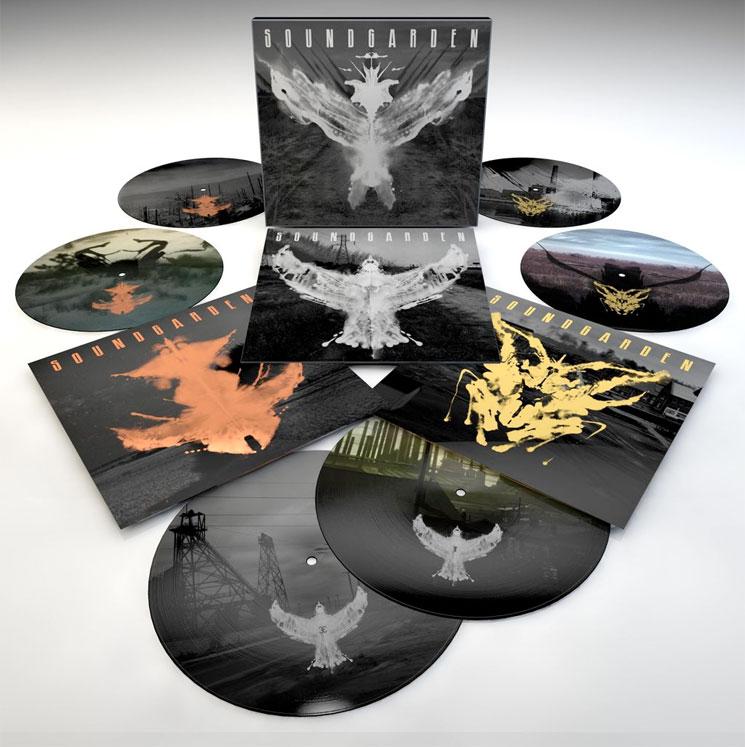 Soundgarden Reissue Echo Of Miles Comp As 6 Lp Vinyl Set
