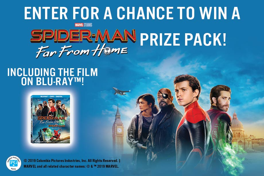 Spider-Man: Far From Home - Enter for a chance to win a massive prize pack!