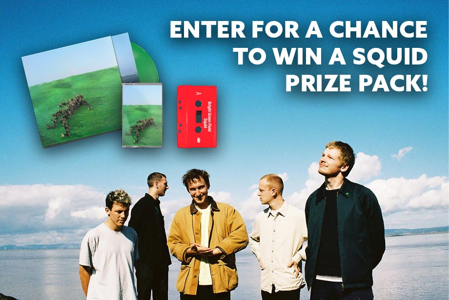 Squid — Enter for Your Chance to win a 'Bright Green Field' Prize Pack!